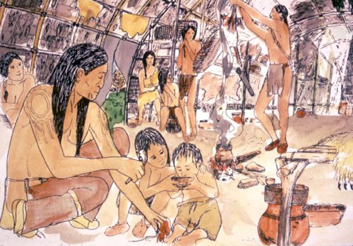 Official site of the delaware tribe of indians lenape family interior publicscrutiny Image collections
