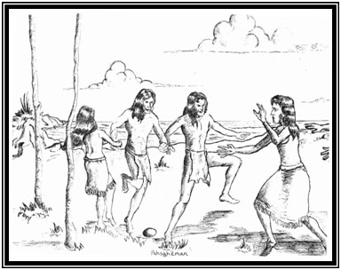 Official site of the delaware tribe of indians pahsahman the scene of a lenape publicscrutiny Image collections